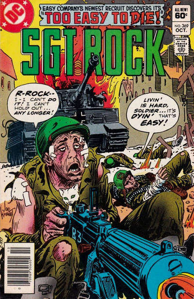 Cover for Sgt. Rock (DC, 1977 series) #369 [Newsstand]