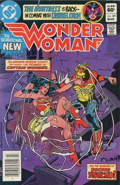 Cover for Wonder Woman (DC, 1942 series) #289 [Direct]