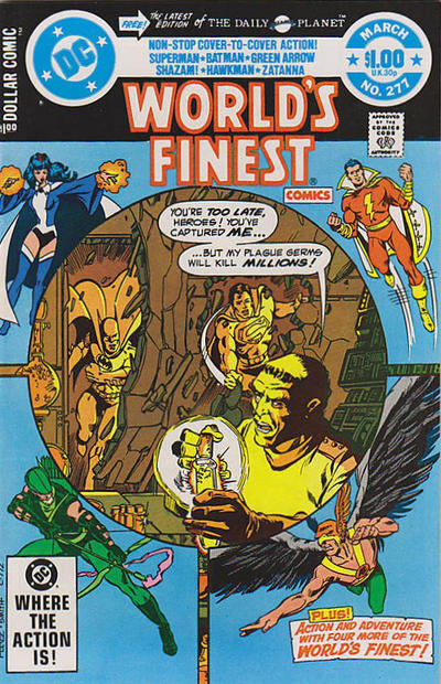 Cover for World's Finest Comics (DC, 1941 series) #277 [Newsstand]