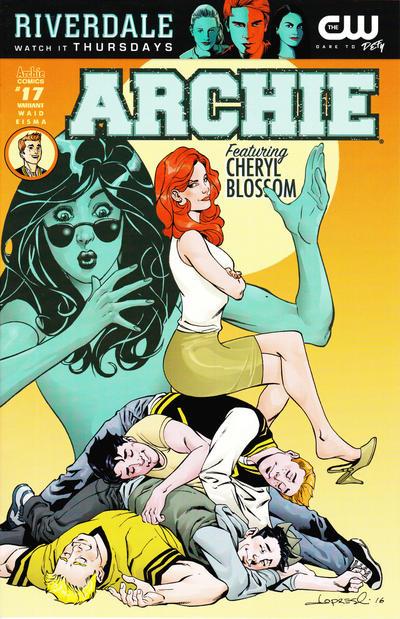 Cover for Archie (Archie, 2015 series) #17 [Cover A - Joe Eisma]