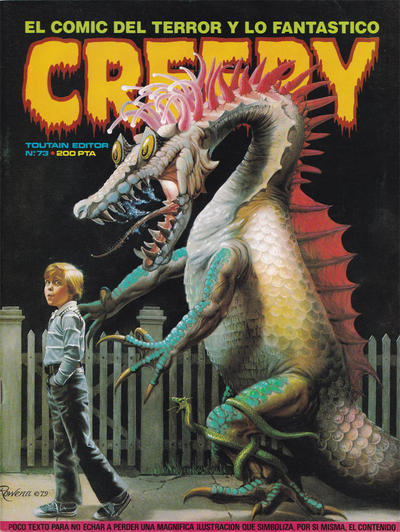 Cover for Creepy (Toutain Editor, 1979 series) #73