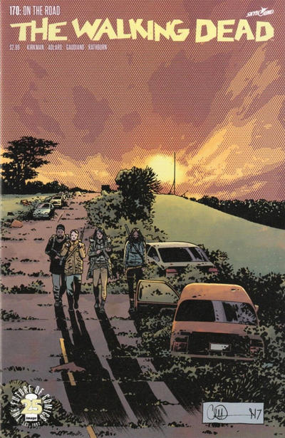 Cover for The Walking Dead (Image, 2003 series) #170