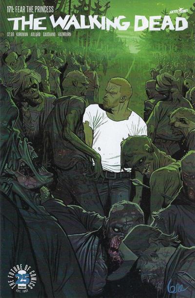 Cover for The Walking Dead (Image, 2003 series) #171 [Lorenzo De Felici]