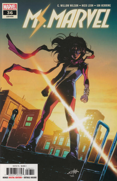 Cover for Ms. Marvel (Marvel, 2016 series) #36