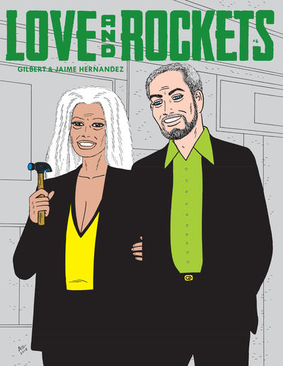 Cover for Love and Rockets (Fantagraphics, 2016 series) #6