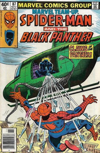 Cover for Marvel Team-Up (Marvel, 1972 series) #87 [Direct]