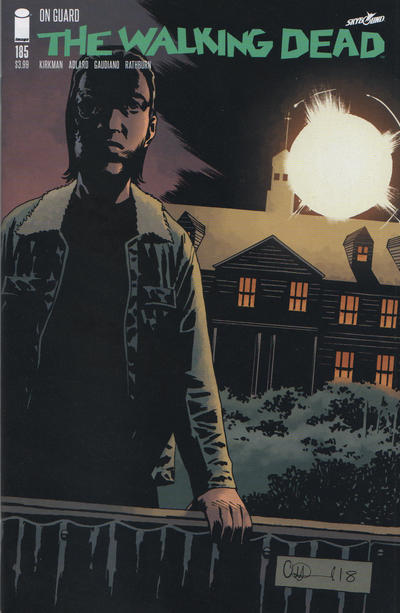 Cover for The Walking Dead (Image, 2003 series) #185 [Cover A]