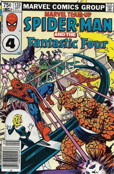 Cover for Marvel Team-Up (Marvel, 1972 series) #133 [Direct]