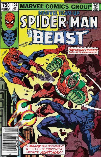 Cover for Marvel Team-Up (Marvel, 1972 series) #124 [Newsstand]
