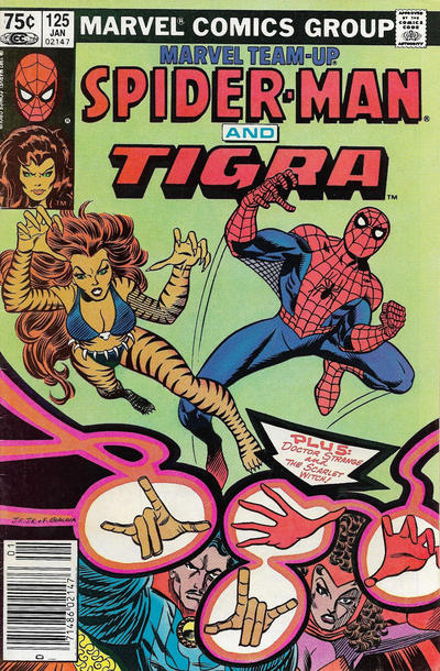 Cover for Marvel Team-Up (Marvel, 1972 series) #125 [Newsstand]