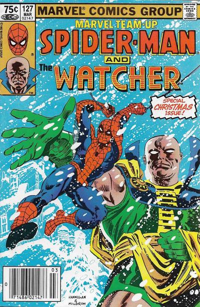 Cover for Marvel Team-Up (Marvel, 1972 series) #127 [Newsstand]