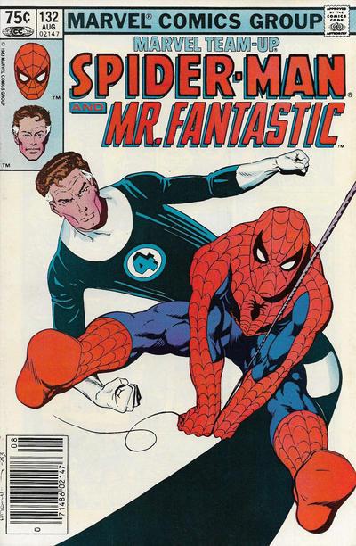 Cover for Marvel Team-Up (Marvel, 1972 series) #132 [Direct]