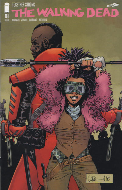 Cover for The Walking Dead (Image, 2003 series) #181 [Cover A]