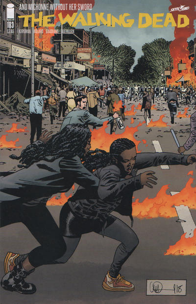 Cover for The Walking Dead (Image, 2003 series) #183 [Cover A]