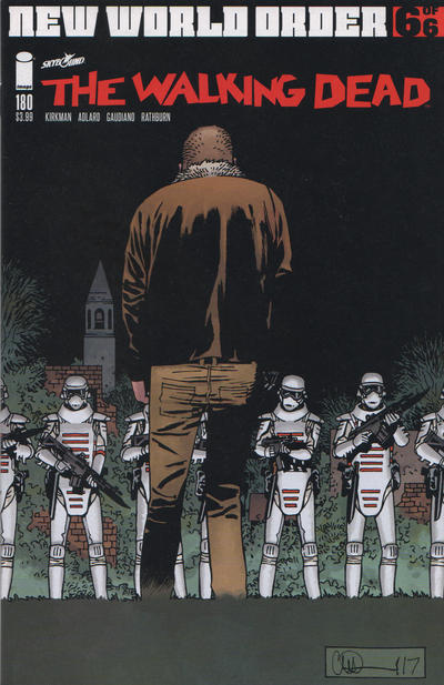 Cover for The Walking Dead (Image, 2003 series) #180 [Cover A]