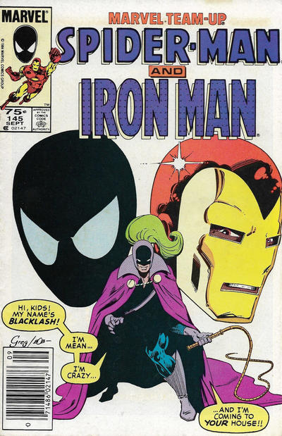 Cover for Marvel Team-Up (Marvel, 1972 series) #145 [Newsstand]