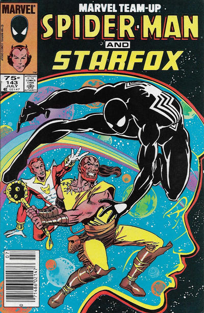 Cover for Marvel Team-Up (Marvel, 1972 series) #143 [Direct]