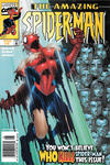Cover for The Amazing Spider-Man (Marvel, 1999 series) #8 [Newsstand]