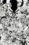 Cover for Uncanny X-Men (Marvel, 2019 series) #1 (620) [Joe Quesada 'Hidden Gem' Black and White]