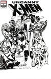 Cover Thumbnail for Uncanny X-Men (2019 series) #1 (620) [Dave Cockrum 'Hidden Gem' Wraparound Black and White]