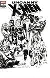 Cover for Uncanny X-Men (Marvel, 2019 series) #1 (620) [Dave Cockrum 'Hidden Gem' Wraparound Black and White]
