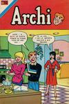 Cover for Archi Serie Avestruz (Editorial Novaro, 1975 series) #119