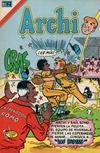Cover for Archi Serie Avestruz (Editorial Novaro, 1975 series) #120