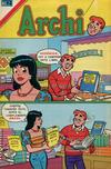 Cover for Archi Serie Avestruz (Editorial Novaro, 1975 series) #128