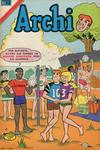 Cover for Archi Serie Avestruz (Editorial Novaro, 1975 series) #129