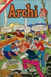 Cover for Archi Serie Avestruz (Editorial Novaro, 1975 series) #141
