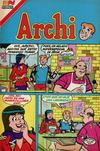 Cover for Archi Serie Avestruz (Editorial Novaro, 1975 series) #172