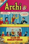 Cover for Archi Serie Avestruz (Editorial Novaro, 1975 series) #173
