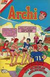 Cover for Archi Serie Avestruz (Editorial Novaro, 1975 series) #174
