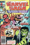 Cover for The Marvel Saga the Official History of the Marvel Universe (Marvel, 1985 series) #2 [Canadian]