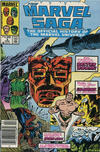 Cover for The Marvel Saga the Official History of the Marvel Universe (Marvel, 1985 series) #3 [Canadian]