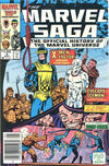 Cover for The Marvel Saga the Official History of the Marvel Universe (Marvel, 1985 series) #6 [Canadian]