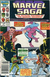 Cover for The Marvel Saga the Official History of the Marvel Universe (Marvel, 1985 series) #7 [Canadian]