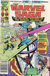 Cover for The Marvel Saga the Official History of the Marvel Universe (Marvel, 1985 series) #8 [Canadian]