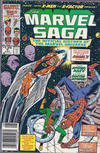 Cover for The Marvel Saga the Official History of the Marvel Universe (Marvel, 1985 series) #9 [Canadian]