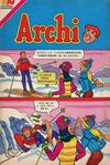 Cover for Archi Serie Avestruz (Editorial Novaro, 1975 series) #196