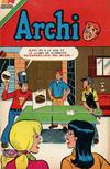 Cover for Archi Serie Avestruz (Editorial Novaro, 1975 series) #205