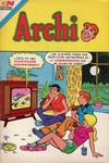 Cover for Archi Serie Avestruz (Editorial Novaro, 1975 series) #206