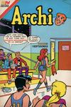 Cover for Archi Serie Avestruz (Editorial Novaro, 1975 series) #209