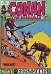 Cover for Conan the Barbarian (Yaffa / Page, 1977 series) #6