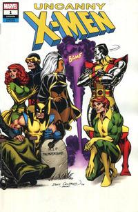 Cover Thumbnail for Uncanny X-Men (Marvel, 2019 series) #1 (620) [Dave Cockrum 'Hidden Gem' Wraparound Cover]
