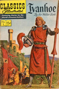 Cover Thumbnail for Classics Illustrated (Gilberton, 1947 series) #2 [HRN 149] - Ivanhoe [White Background]