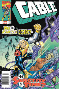 Cover Thumbnail for Cable (Marvel, 1993 series) #69 [Newsstand]
