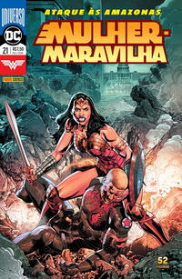 Cover Thumbnail for Mulher-Maravilha (Panini Brasil, 2017 series) #21