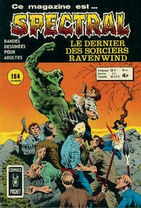 Cover Thumbnail for Spectral (Arédit-Artima, 1974 series) #4
