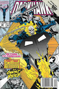 Cover Thumbnail for Darkhawk (Marvel, 1991 series) #22 [Newsstand]